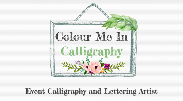 Colour Me In Calligraphy