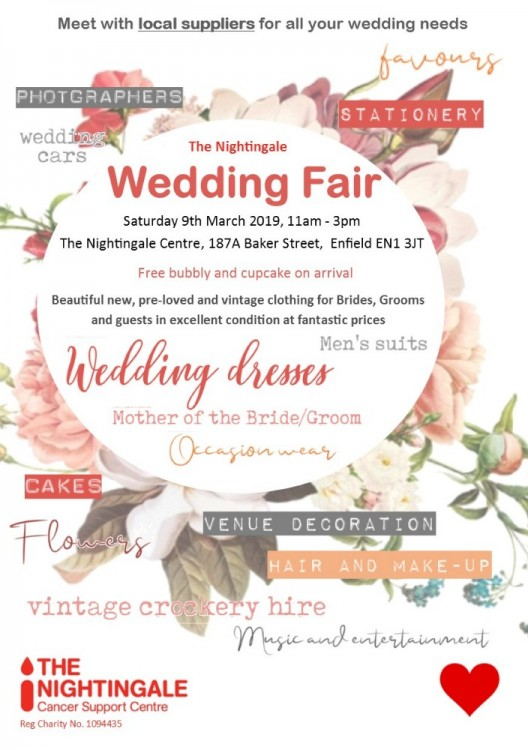 The Nightingale Wedding Fair - Enfield