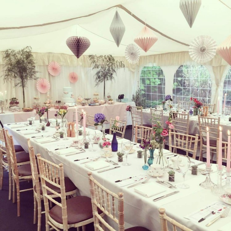 Wedding fair at the Cock O'Barton