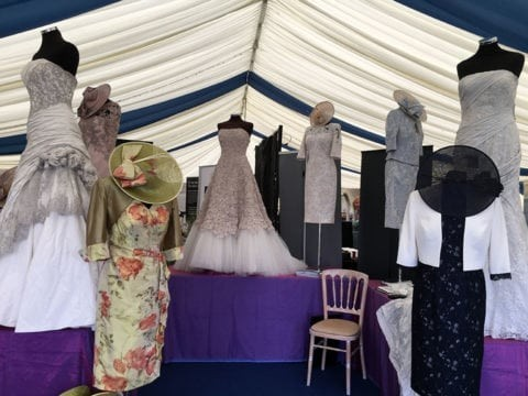 The Royal Cornwall Show Wedding Marquee