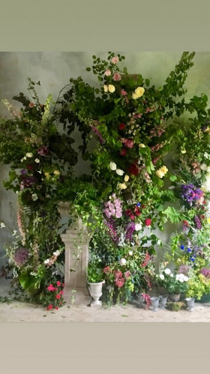 Foliage and Fern Floral Design