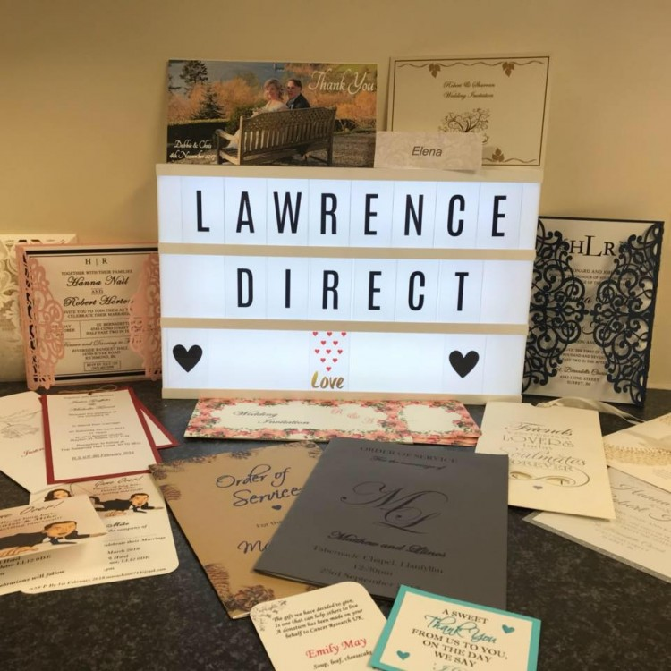 Lawrence Direct Wedding Stationery