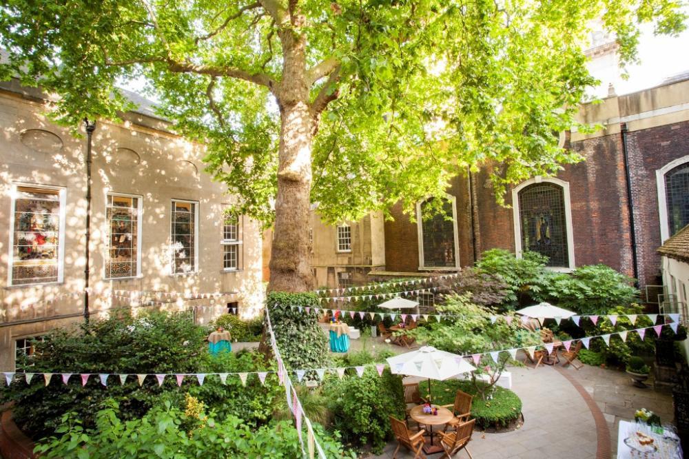 Stationers' Hall & Garden