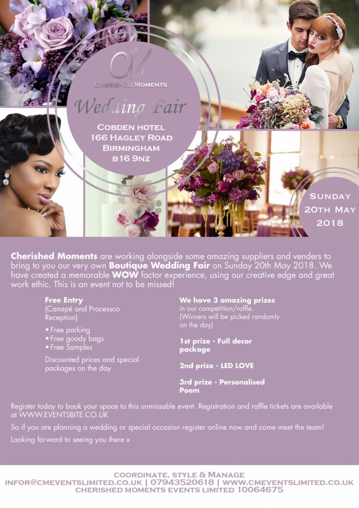 Cherished moments Events Limited