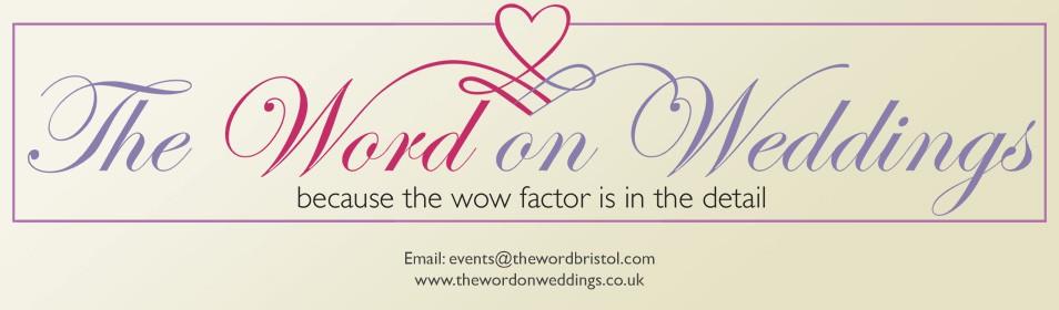 The Word on Weddings