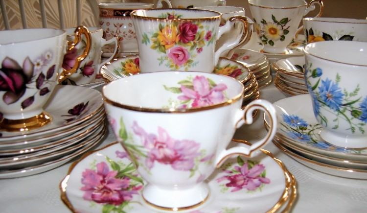 Fern Cottage Vintage China