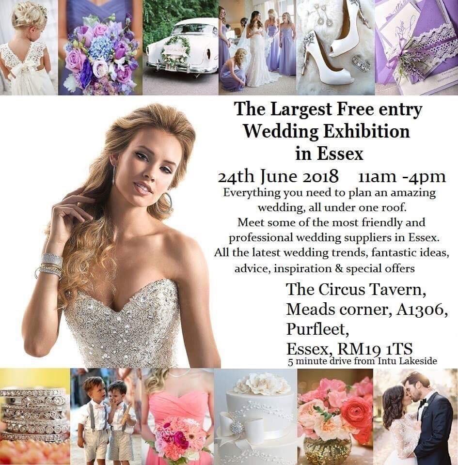 The Essex Summer Wedding Show   24th June 2018