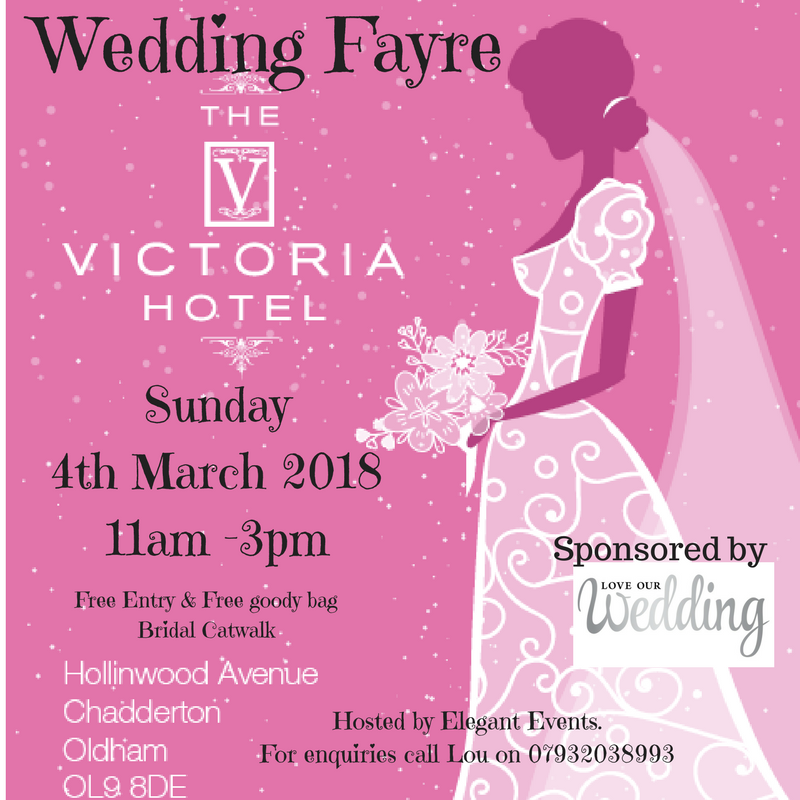 The Victoria Hotel Wedding Fayre 4th March 2018